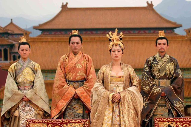 tang dynasty royal clothing