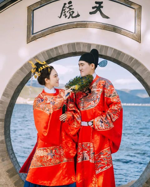 Chinese Style Wedding Dress Photo Share