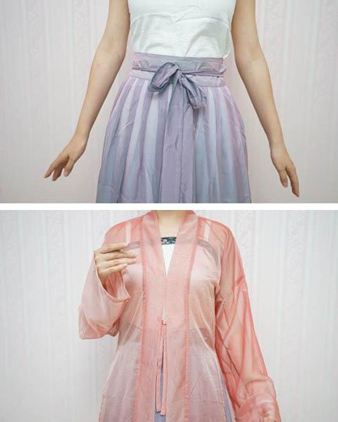 How to Wear Hanfu - Song Dynasty Style