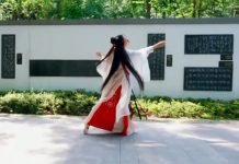 hanfu dance video newhanfu