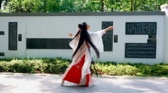 hanfu dance video newhanfu