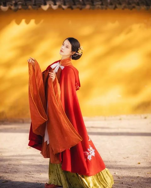 Glimpse | Hanfu Ming-style Girl
