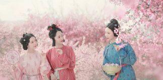 Ten Beauties Perform the Most Beautiful Hanfu