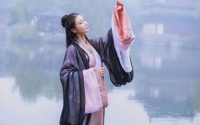 wuxia hanfu clothing
