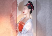 Beauty Oriental Style Top - Fashion from Song Dynasty