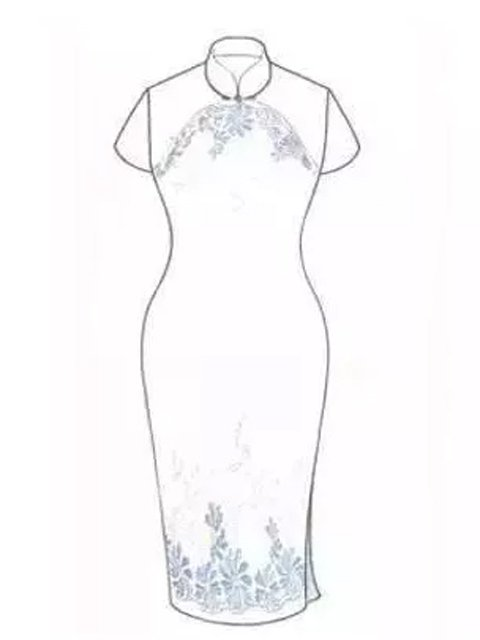 Chinese Cheongsam Dress is the Beauty of-One Traditional Costume