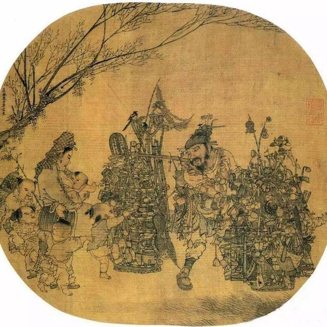 What were the Toys for Children in Ancient China?