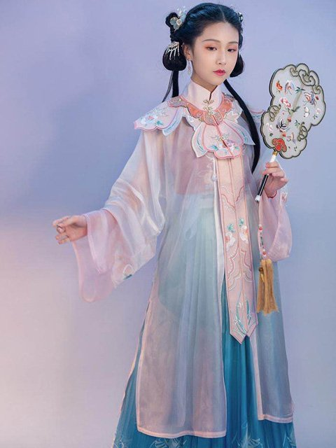 How to Wear Yunjian & Ming Ancient Chinese Clothing Classy and Beautiful in Summer