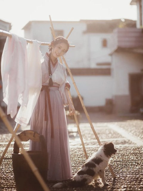 Hanfu Photography - Enjoy Hanfu in Daily Life