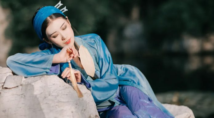 The Legend of the White Snake - Traditional Hanfu Photography
