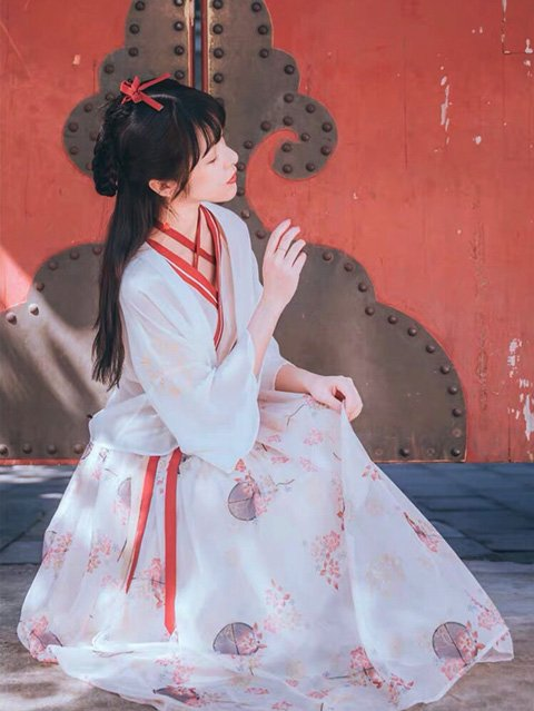 How Floral Patterns Hanfu Light Your Summer?