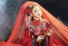 History of Chinese Embroidery Patterns & Apply in Hanfu Style