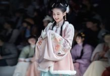 The Autumn Hanfu Style - Chinese Costume for the Female