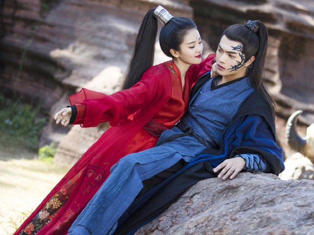 How Beautiful is Blue Hanfu in Traditional Chinese Hanfu