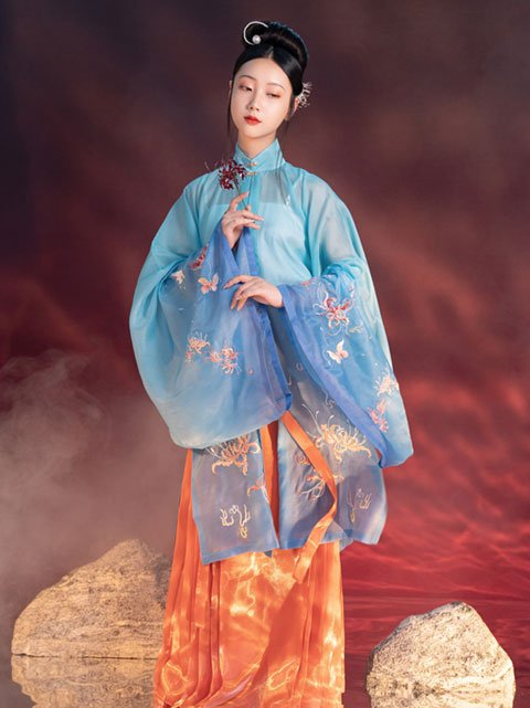12 Latest Fashion Chinese Clothing Hanfu Styles in Runway