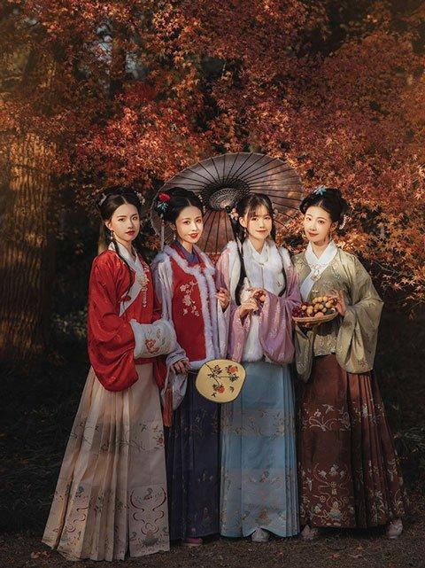 Ancient Chinese Fashion: Historical Prototype of Hanfu Style