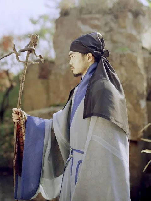 Chinese Traditional Costume - Ming Style Daofu for Male