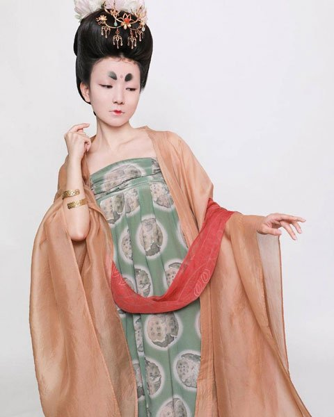 History of Tang Dynasty Makeup Style