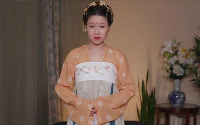 How to Wear Hanfu (2) - Tang Dynasty Qixiong Ruqun