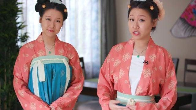 How to Wear Hanfu (2) – Tang Dynasty Qiyao Ruqun