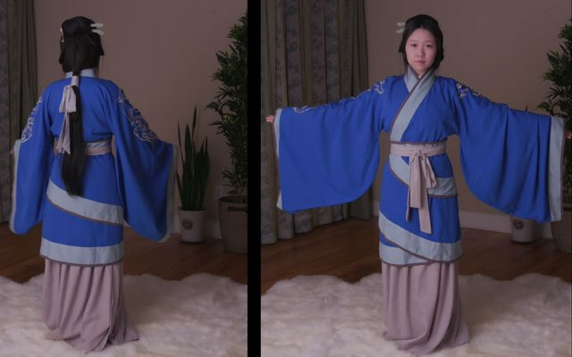 How to Wear Hanfu - Quju Shenyi