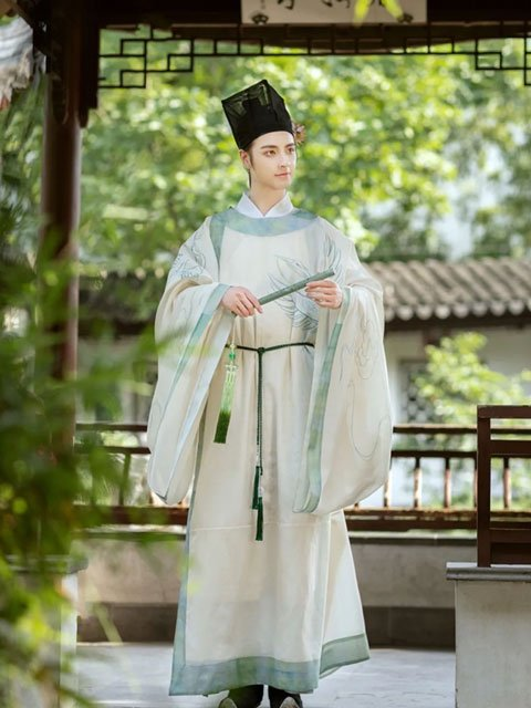Chinese Traditional Costume - Lanshan for Scholars