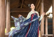 History of Traditional Hanfu Shawl: Pibo