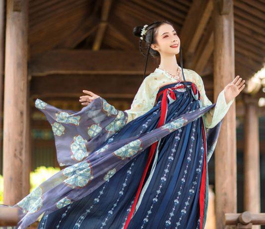 History of Traditional Hanfu Shawl: Pibo