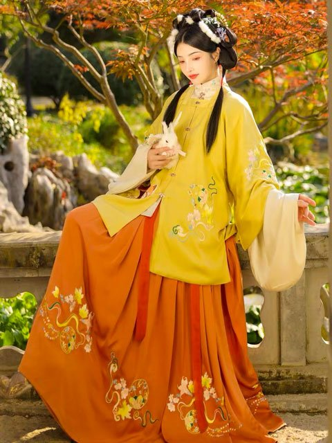10 Traditional Chinese Colors & 4 Patterns Applied to Hanfu
