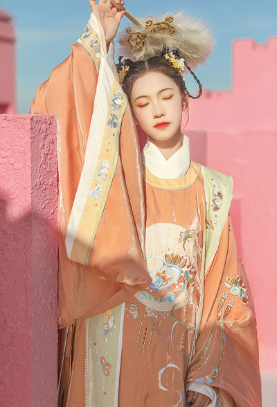 4 Sets of Rare Colorways Hanfu Styles
