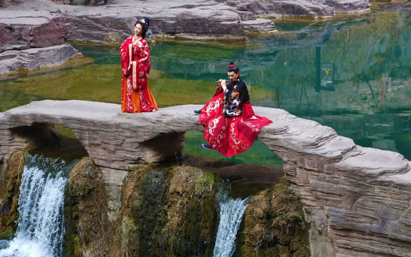 The 3rd China Yuntai Mountain Hanfu Flower Festival Is About to Start!