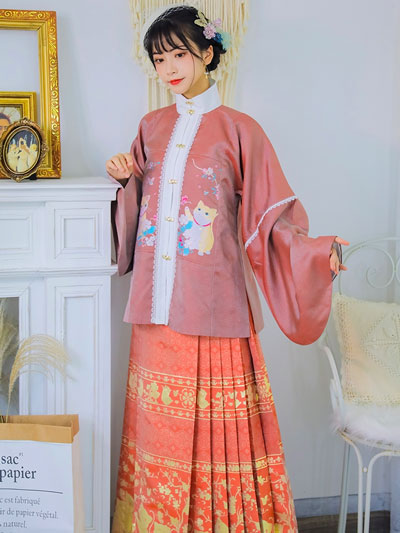 Cute Hanfu Suitable for Those Who Like the Cat