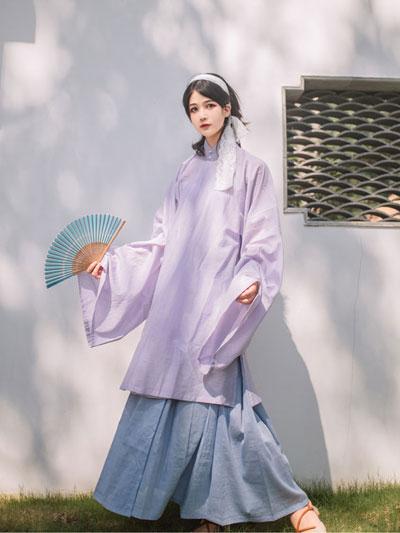 Let Lilac Purple Hanfu Romance Your 2021