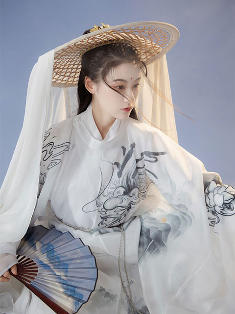 4 Sets of Martial Arts Style Hanfu for Girls