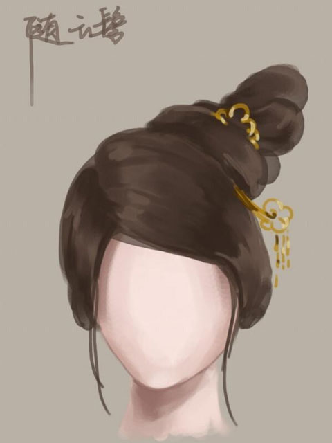 Traditional Ancient Chinese Hairstyles History
