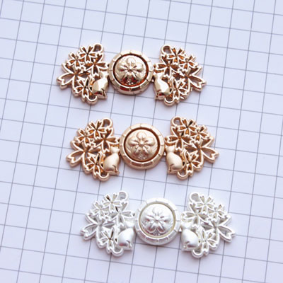 Zimu Kou - Exquisite Ming Style Hanfu Button