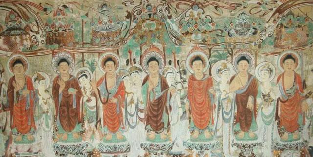 Fabulous Dunhuang Murals & Its Color Inspiration for Hanfu