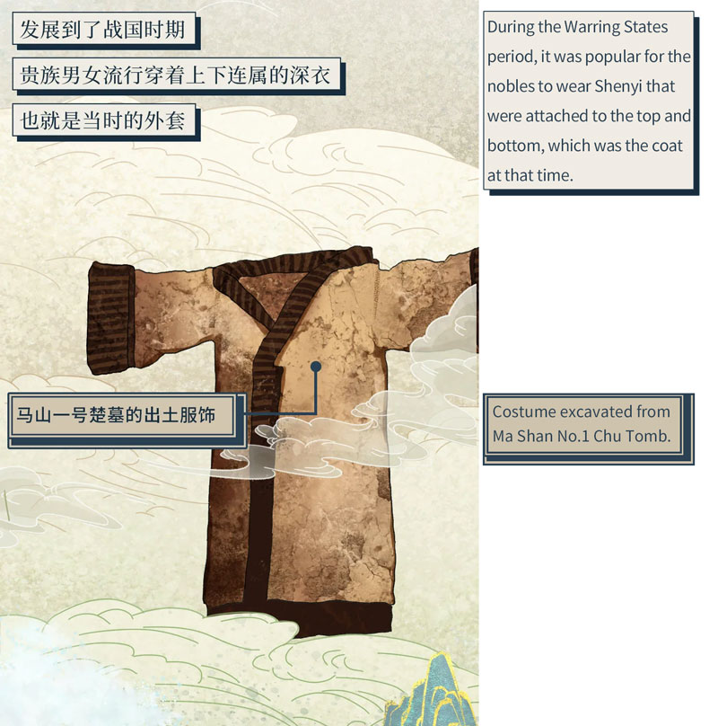 Ancient Chinese Hanfu Illustrated Book