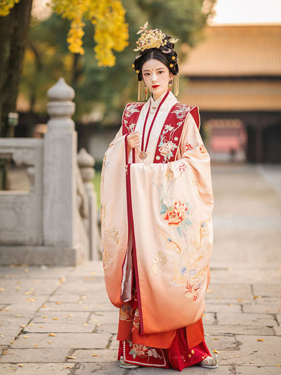 Chinese Formal Dress: Gorgeous Style Hanfu for Female