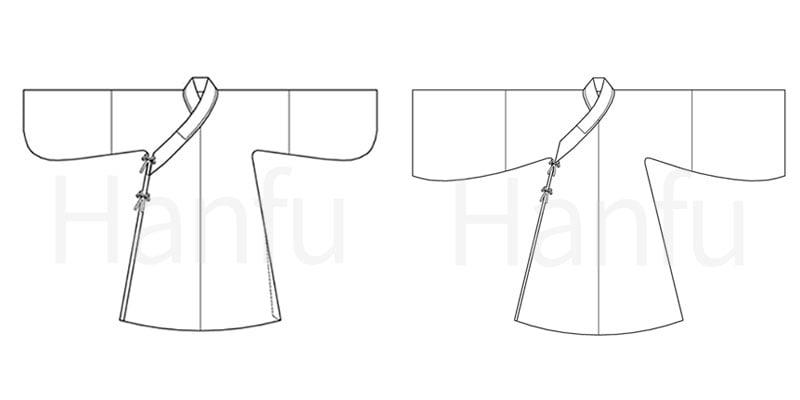 Hanfu Making(9) – Zhiduo Zhishen Daopao Cutting & Sewing Patterns