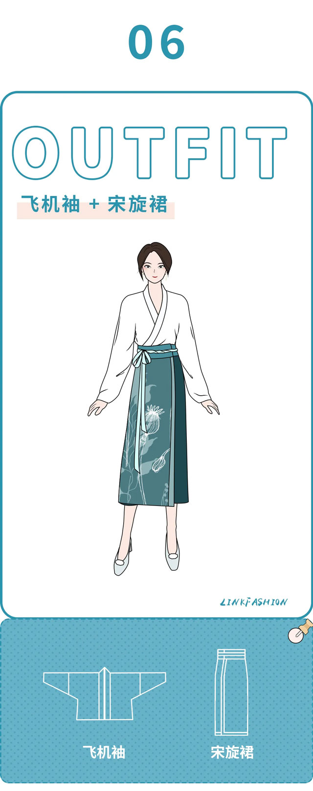 Master 6 Kinds of Hanfu Mix and Match Wearing at a Glance
