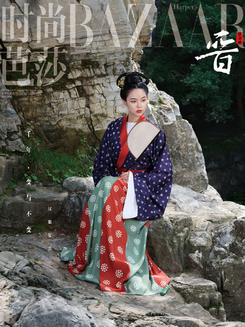 Stunning! How Fashion Magazine Revives Ancient Chinese Costume