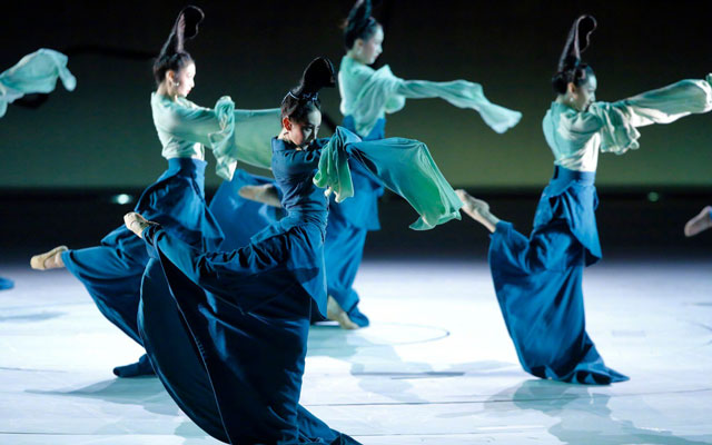 A New Chinese Dance Drama Depicting the Aesthetics of the Song Dynasty