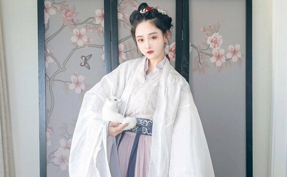 Simple Beautiful Hanfu Hairstyle for You