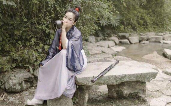 Woman Hero and Kungfu Costume