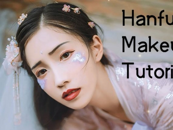 Fish Tears Makeup Tutorial for Traditional Hanfu Clothing