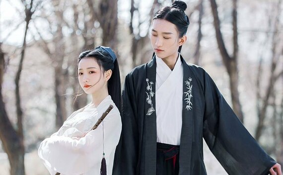 Latest Sweet Couples Hanfu Costume