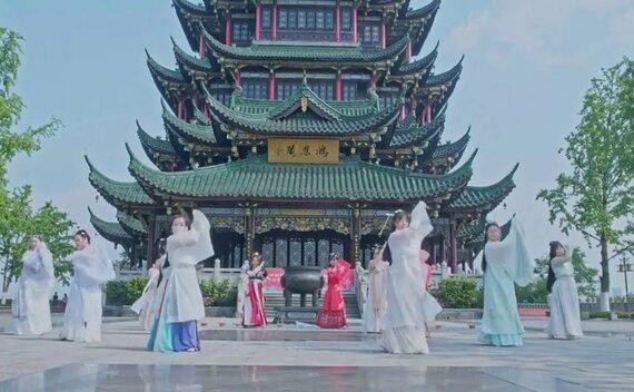 Hanfu Women Ancient Dancing Performance
