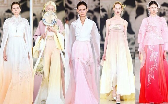 2019 Paris Fashion Week | Modern Hanfu Show Time!