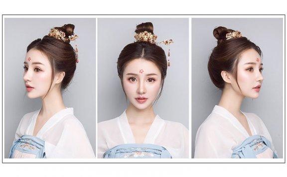 Simple Beautiful Hanfu Hairstyle for Boys&Girls